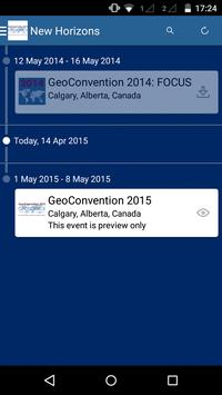 GeoConvention mobile app apk screenshot