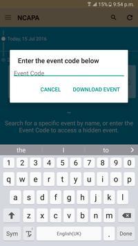 NCAPA Conferences apk screenshot