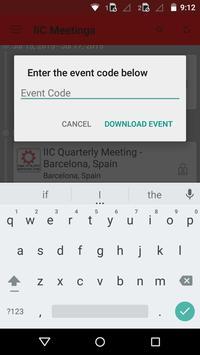 IIC Meetings apk screenshot