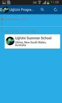 U@Uni Program apk screenshot