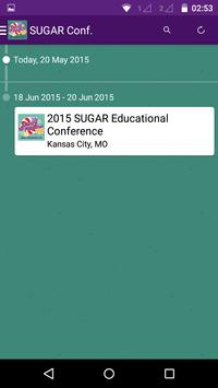 SUGAR Conference apk screenshot