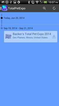 Backer's Total Pet Expo apk screenshot