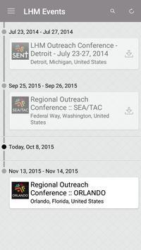 LHM Events apk screenshot