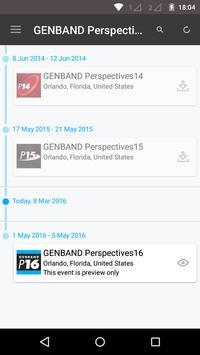 GENBAND Perspectives16 apk screenshot