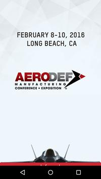 AeroDef Conference & Expo 2015 poster