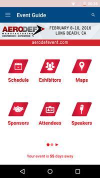 AeroDef Conference & Expo 2015 apk screenshot
