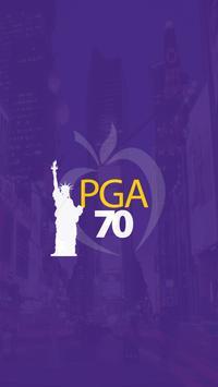 PGA70 poster