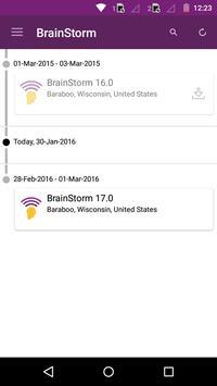 BrainStorm IT Conference apk screenshot