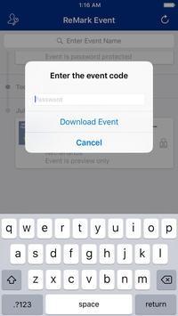 ReMark Event apk screenshot