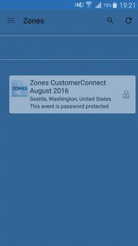 Zones CustomerConnect Conf poster