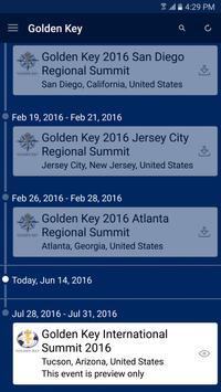 Golden Key Events apk screenshot