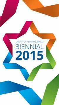 URJ Biennial 2015 poster