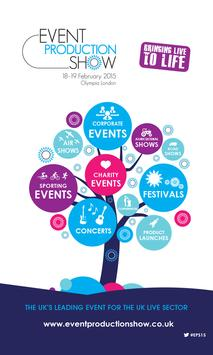 Event Production Show 2015 poster