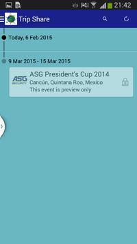 Trip SHARE 2015 apk screenshot
