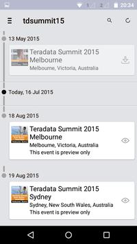 Teradata Summit 2015 apk screenshot