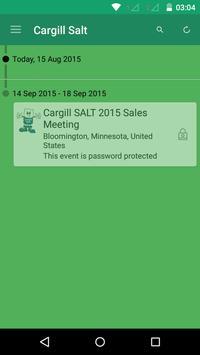 Cargill Salt Sales Meetings poster