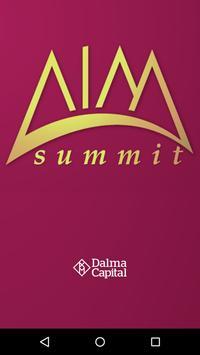 AIM Summit poster