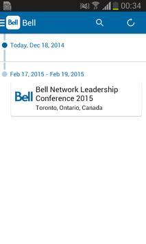 Bell Events/Événements Bell apk screenshot