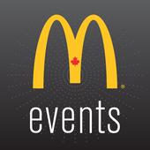 McDonald's Canada Events icon