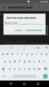 McDonald's Canada Events apk screenshot