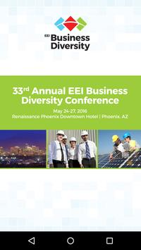 EEI Business Diversity Conf poster