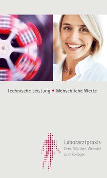 Laborarztpraxis poster