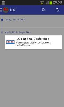 ILG National Conference poster