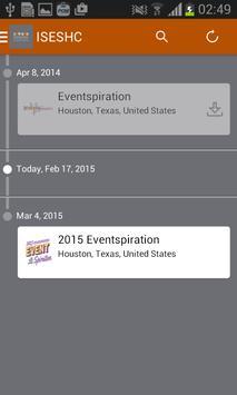 ISES Houston Event App apk screenshot