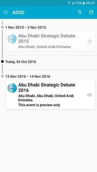 Abu Dhabi Strategic Debate apk screenshot