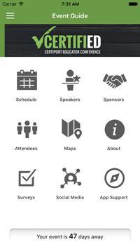 CERTIFIED Conference apk screenshot