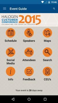 Halogen Customer Conference apk screenshot