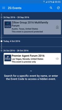 Zillow Group Events poster