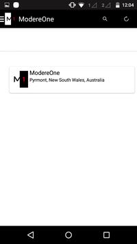 ModereOne Australia apk screenshot
