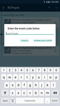 RCPsych Conferences & Training apk screenshot