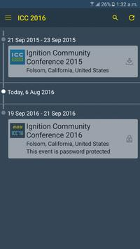 Ignition Community Conference poster