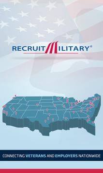 RecruitMilitary Events poster
