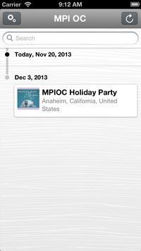 MPI Orange County Events apk screenshot
