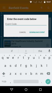 Banfield Events apk screenshot