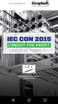 IEC Con 2015 poster