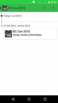 IEC Con 2015 apk screenshot