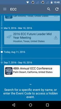 ECC Association apk screenshot
