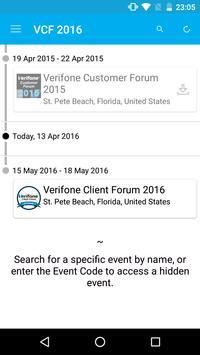 Verifone Client Forum 2016 apk screenshot