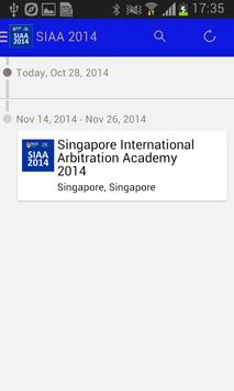 SIAA 2014 apk screenshot