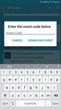 KLA-Tencor Corporate Events apk screenshot
