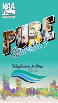 NAA's Conference and Show poster