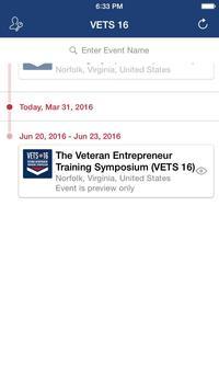 VETS 16 Mobile App apk screenshot