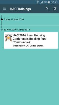 HAC Trainings apk screenshot