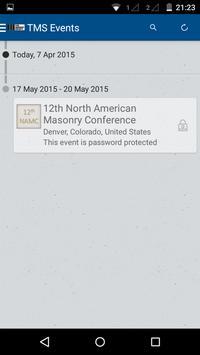 The Masonry Society Events poster