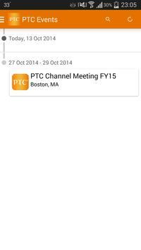 PTC Channel Sales Kickoff FY15 apk screenshot
