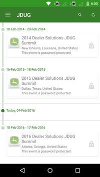 Dealer Solutions JDUG Summit poster